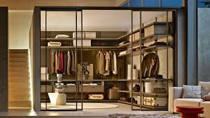 Walk in closet Modern Dwell Oppein Designer Walk In Wardrobes Moltenic