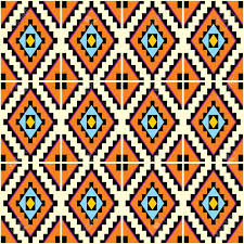 Mexican Pattern Delectable Vector Seamless Background With Mexican Geometric Patterns Royalty