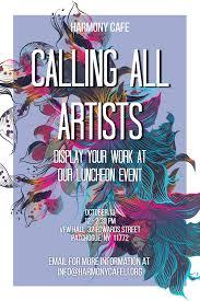 Art Event Flyer Art Event Event Invitation Poster Design Template 142309