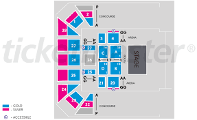 Ocean Center Seating Chart Win Entertainment Centre Wollongong Tickets Schedule