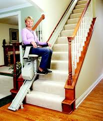 image of electric stair lift indoor