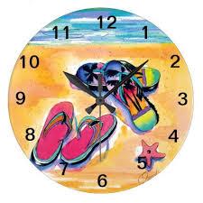 flip flop clock large clock zazzle