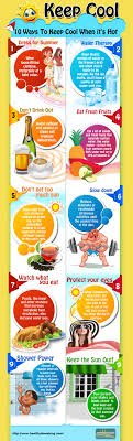 Top 10 tips to beat the summer heat-life style infographics ...