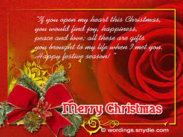 Christmas Messages For Someone Special Fascinating Quotes Xmas Wishes