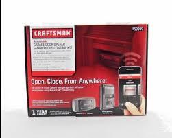 craftsman assurelink garage door opener smartphone control kit 53999