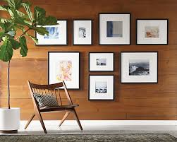 Profile Modern Picture Frames In Black   Modern Picture Frames   Entryway    Room U0026 Board