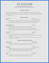 Resume Template Illustrator Cv Resume Template Free Beautiful Sample