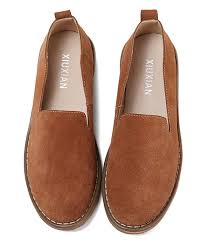 all gone brown leather loafer