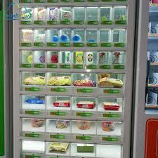 Frozen Product Vending Machine Classy Intelligence 48 Hours Selfservice Frozen Fast Food Vending Machine