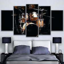 rock music jazz drum kit canvas wall art metal on metal drum set wall art with rock music jazz drum kit canvas wall art metal wildlives