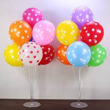 1set 40 Birthday Balloon Stick Diy Unicorn Party Decor Latex