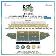 Town Hall New York Seating Chart Day6 North America Tour Seating Charts Day6 Amino