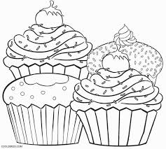 Small Picture Cupcake Color Page Free Download Coloring Pages Glamorous Cupcake
