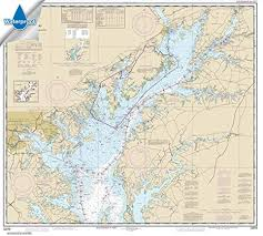 Noaa Chart 12264 Chesapeake Bay Patuxent River And Vicinity