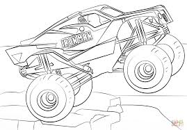 Monster Truck Coloring Pages With Iron Man Monster Truck Coloring