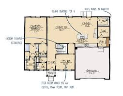 madison home builders floor plans madison b house plan