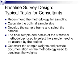 Baseline Survey Design Developing A High Quality Baseline Ppt Download