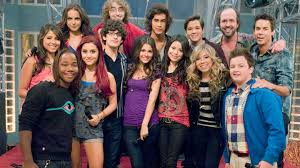 Small Picture Image Nickelodeon iParty Cast Photograph iCarly Cast And