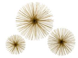 gorgeous shiny things make this diy starburst wall sculptures pertaining to awesome property gold starburst wall decor ideas