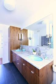 A MidCentury Modern Inspired Bathroom Renovation Before After - Before and after bathroom renovations