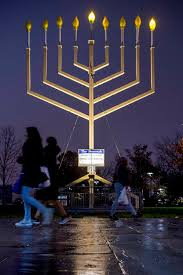 independence mall on the first night of hanukkah december 2 2018