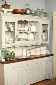 wooden furniture for kitchen. Paris Grey Chalk Paint On Kitchen Hutch Tammy Dammore Wooden Furniture For N