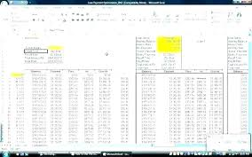 Student Schedule Excel Loan Amortization Calculator Excel Template Inspirational Car
