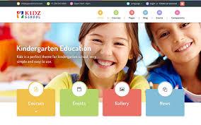 Kids School Website Template Kidz Multipurpose Children Kids Theme