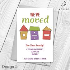 Design Your Own Change Of Address Cards Personalised Home Sweet Home Change Of Address Cards