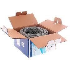<b>Сетевой кабель ExeGate</b> UTP cat 5e 15m Grey 241491 патч-корд ...