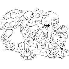Ocean Coloring Pages Preschool Ocean Coloring Pages For Preschool