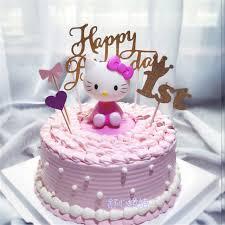 Girls Toys Hello Kitty Birthday Cake Topper Birthday Favors Fun