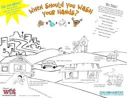 hand washing coloring sheets hand washing coloring sheet celebrate global day free poster coloring page hand