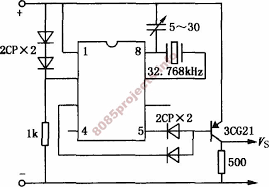 electronic circuits 8085 projects  blog archive quartz quartz clock timer circuit