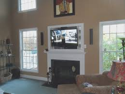 large size of fireplace putting a tv over a fireplace fresh hang tv over fireplace