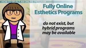 esthetician programs courses