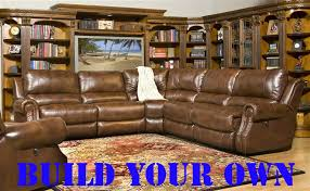 zeus build your own coffee leather reclining sectional by parker house mzeu mod larger photo
