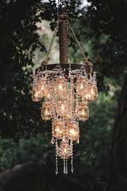 lovely modern outdoor chandelier for dining