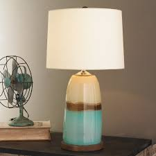 strata art glass table lamp shades of light photo on remarkable claudette turquoise glass table lamp le base blue ta