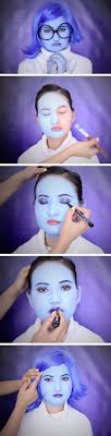inside out sadness makeup tutorial you tutorial