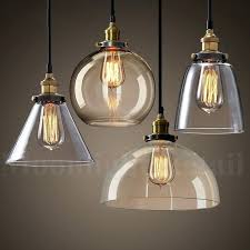 glass pendant shades new modern vintage industrial retro loft glass ceiling lamp shade pendant light glass