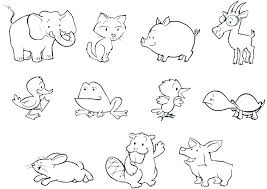 Farm Animal Coloring Pages Farm Animal Colouring Pages Farm Animals