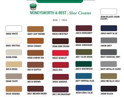 Shoe Polish Color Chart Meltonian Shoe Cream Color Chart