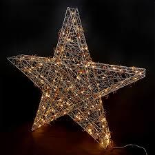 Weihnachtsstern Stern 74x78cm 180 Led Draht Stern Weihnachten Blinkend