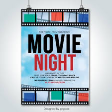 Movie Poster Png Images Vector And Psd Files Free