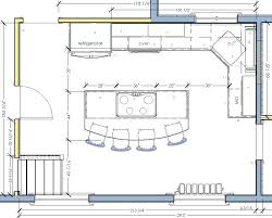 2 Kitchen Plan With Island Design Your Own  Plans
