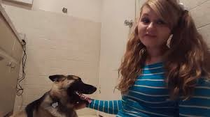 Girl having sex with dog