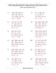 word problems involving quadratic equations