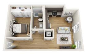 Capitol Loft 3D Floor Plan