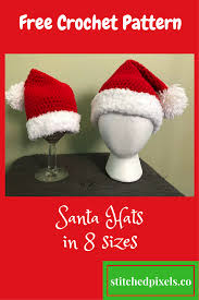 Crochet Santa Hat Pattern New Inspiration Ideas